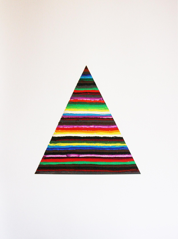 Geom 6 (oil on paper, 65x50cm) 2011- Miquel Gelabert