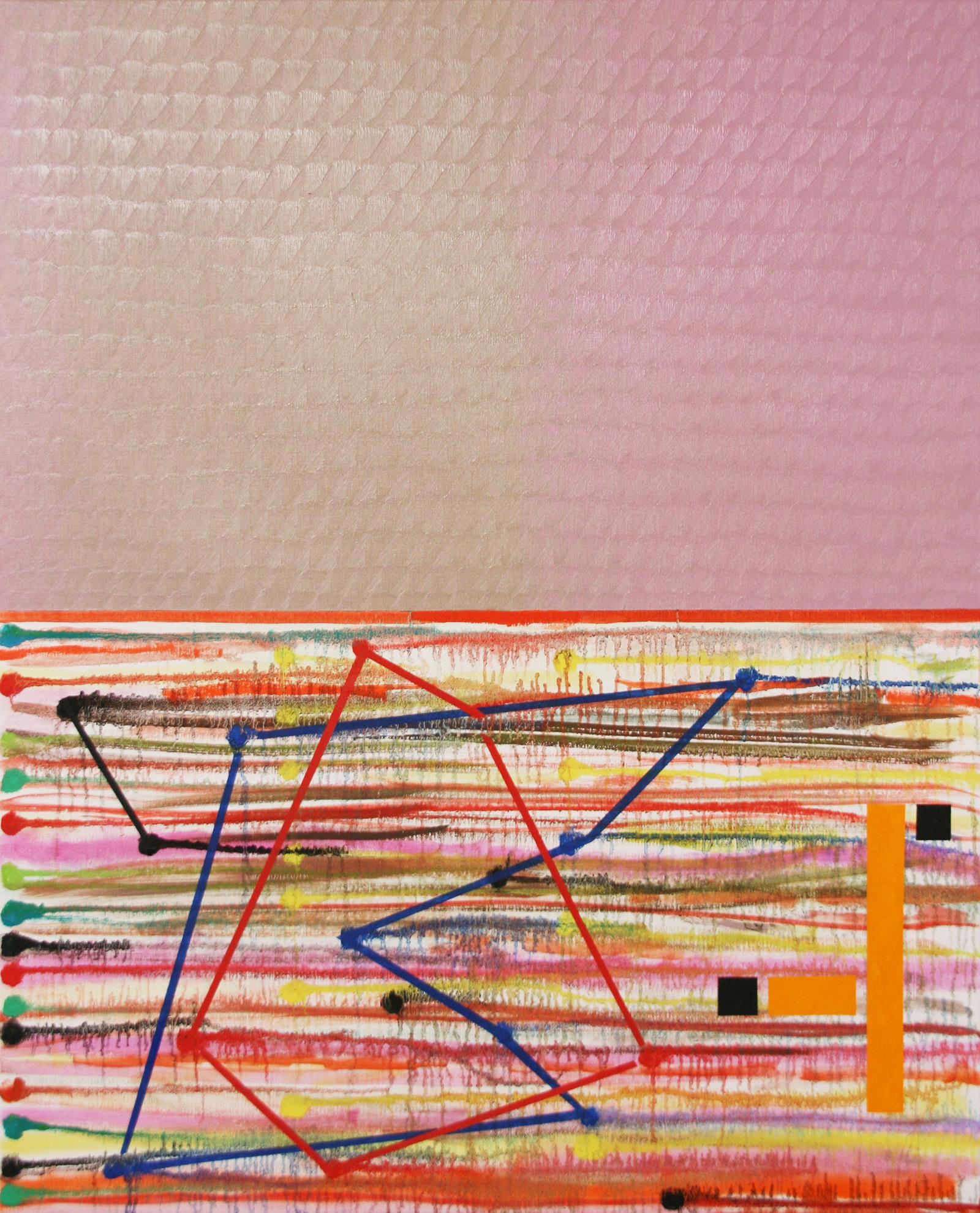 Geoway -oil on canvas 100 x 81 cm- 2016 Miquel Gelabert