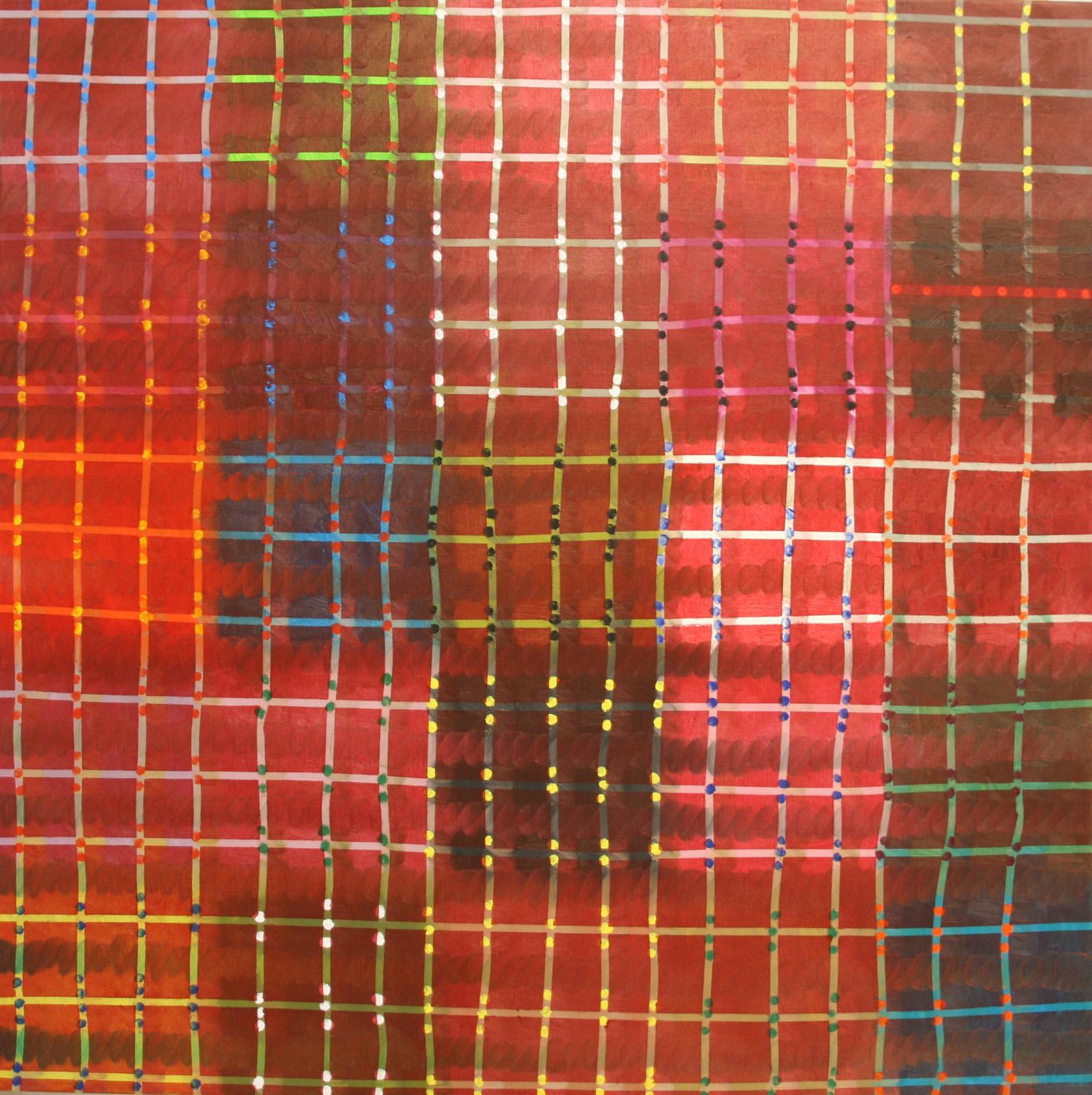 Pik-Nik (review) -oil on canvas 130 x 130 cm- 2016 Miquel Gelabert