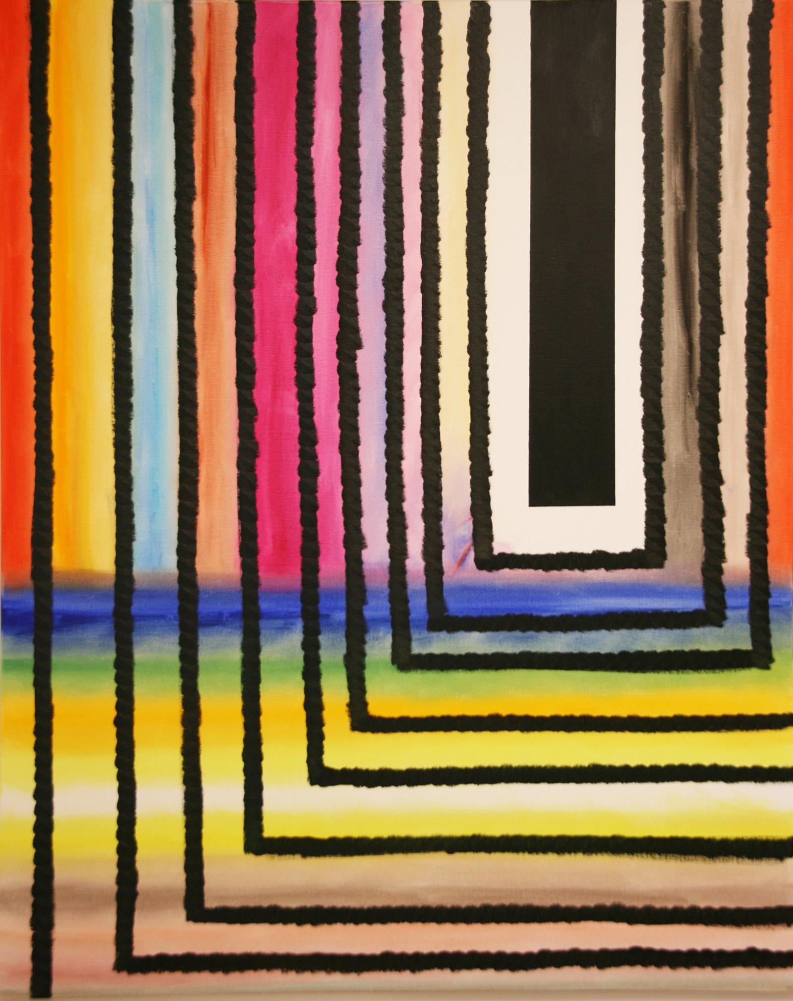Redeep -oil on canvas 162 x 130 cm- 2016 Miquel Gelabert