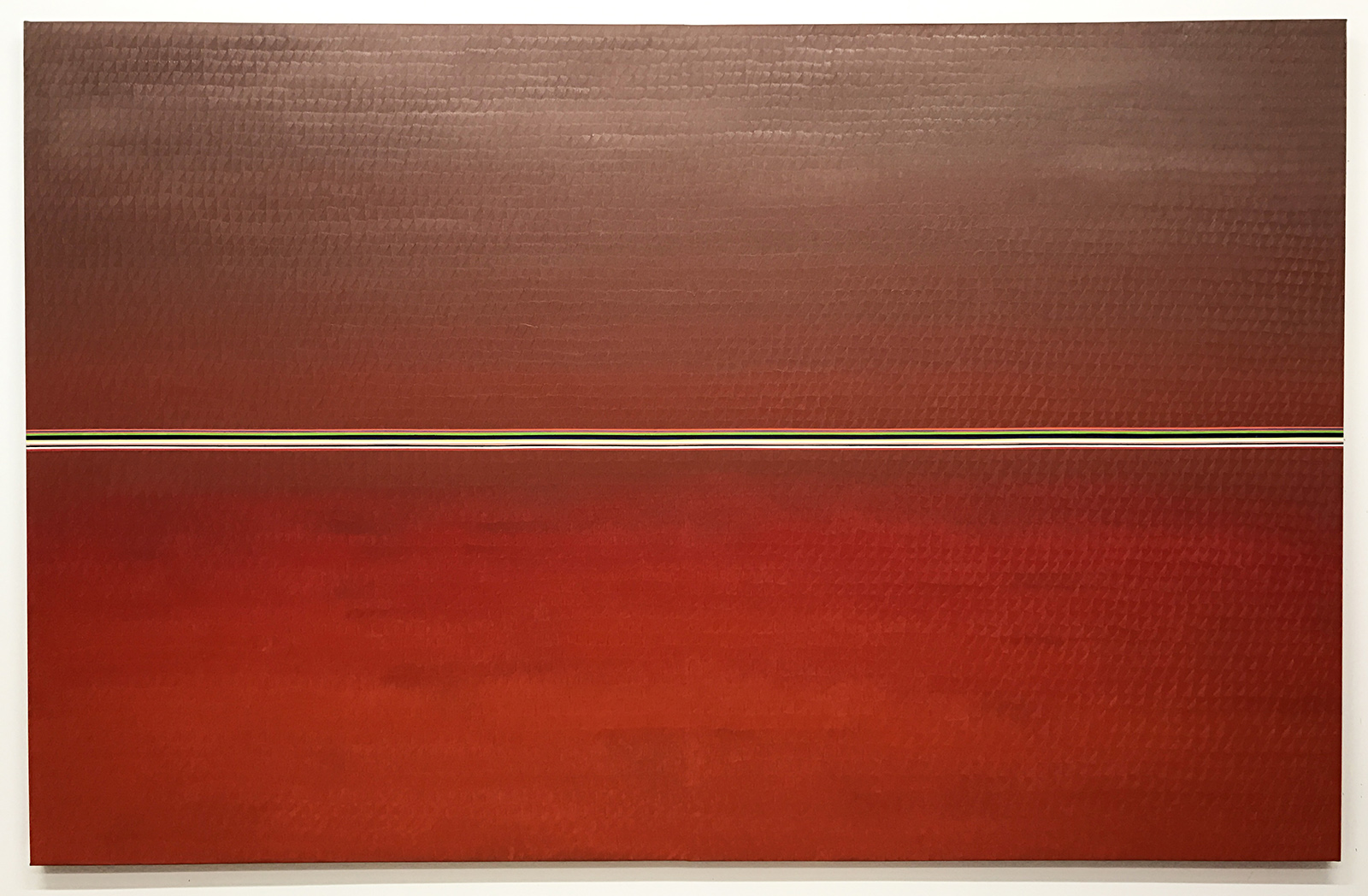 Redland 2 -oil on canvas 146 x 228 cm- 2017 (private collection, New York)
