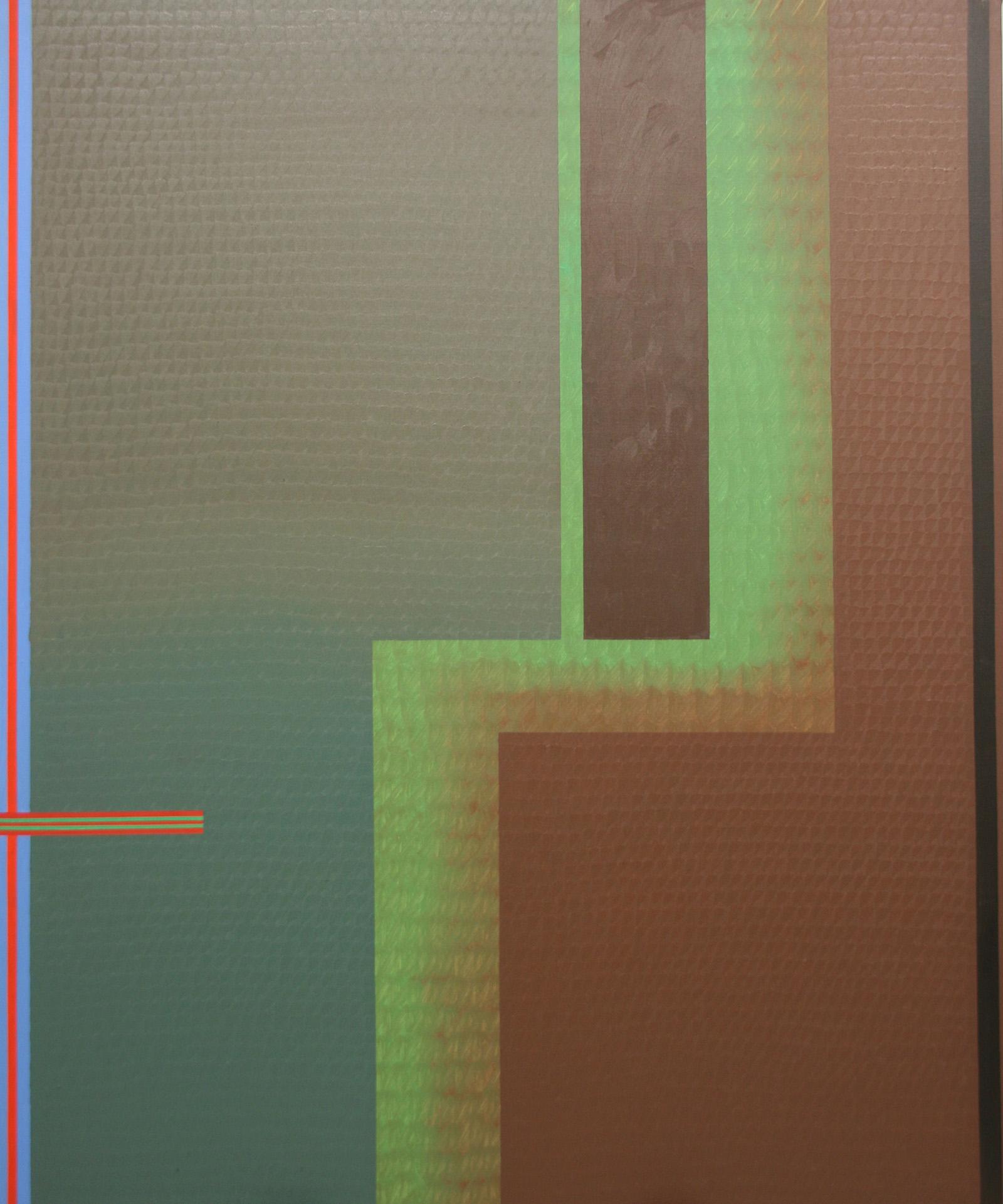 Resee -oil on canvas 195 x 162 cm- 2016 Miquel Gelabert