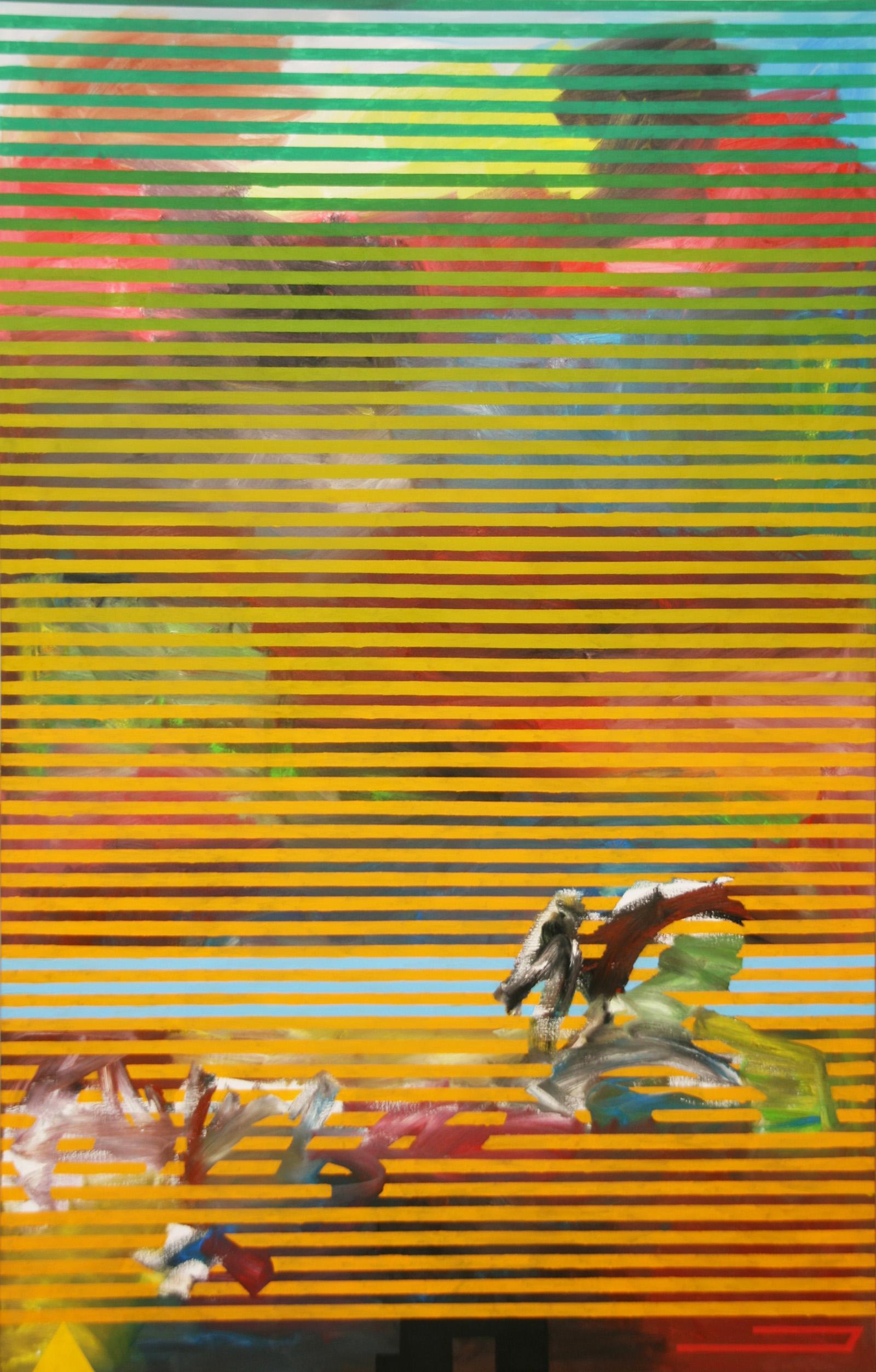Retorn -oil on canvas 228 x 146 cm- 2016 Miquel Gelabert