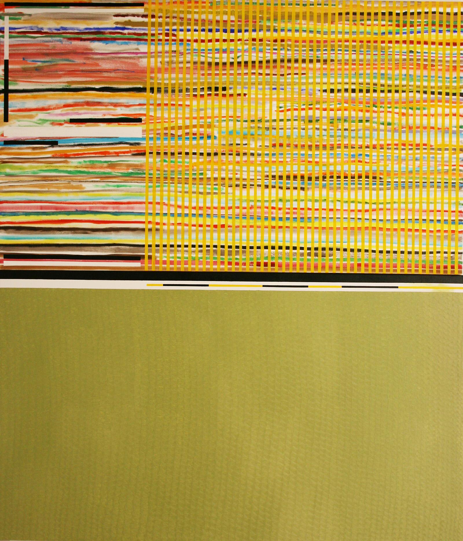 Tarig 3 -oil on canvas, diptych, 228 x 195 cm- 2016 Miquel Gelabert