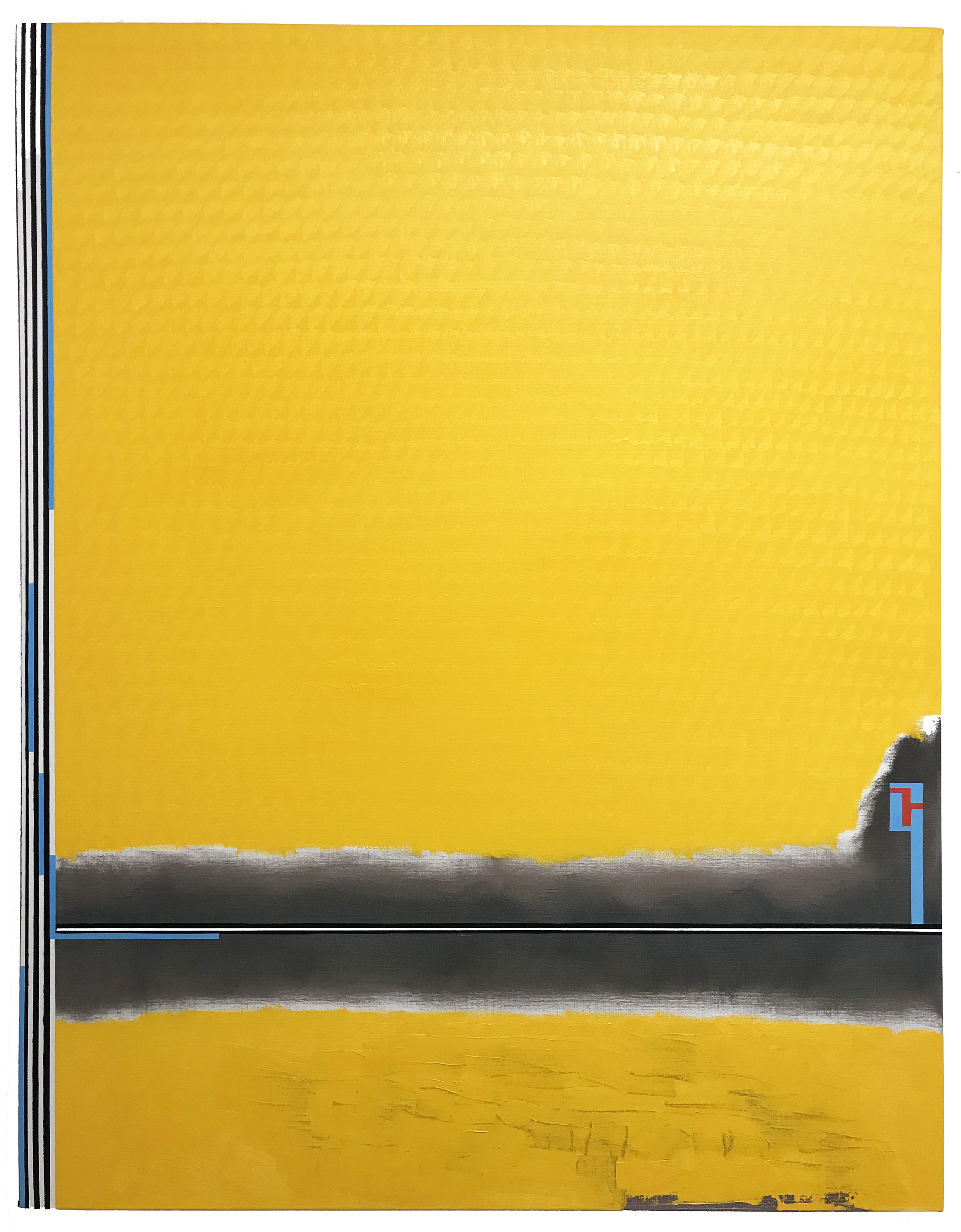 Yellowland -oil on canvas 146 x 114 cm- 2017 (private collection, San Francisco)