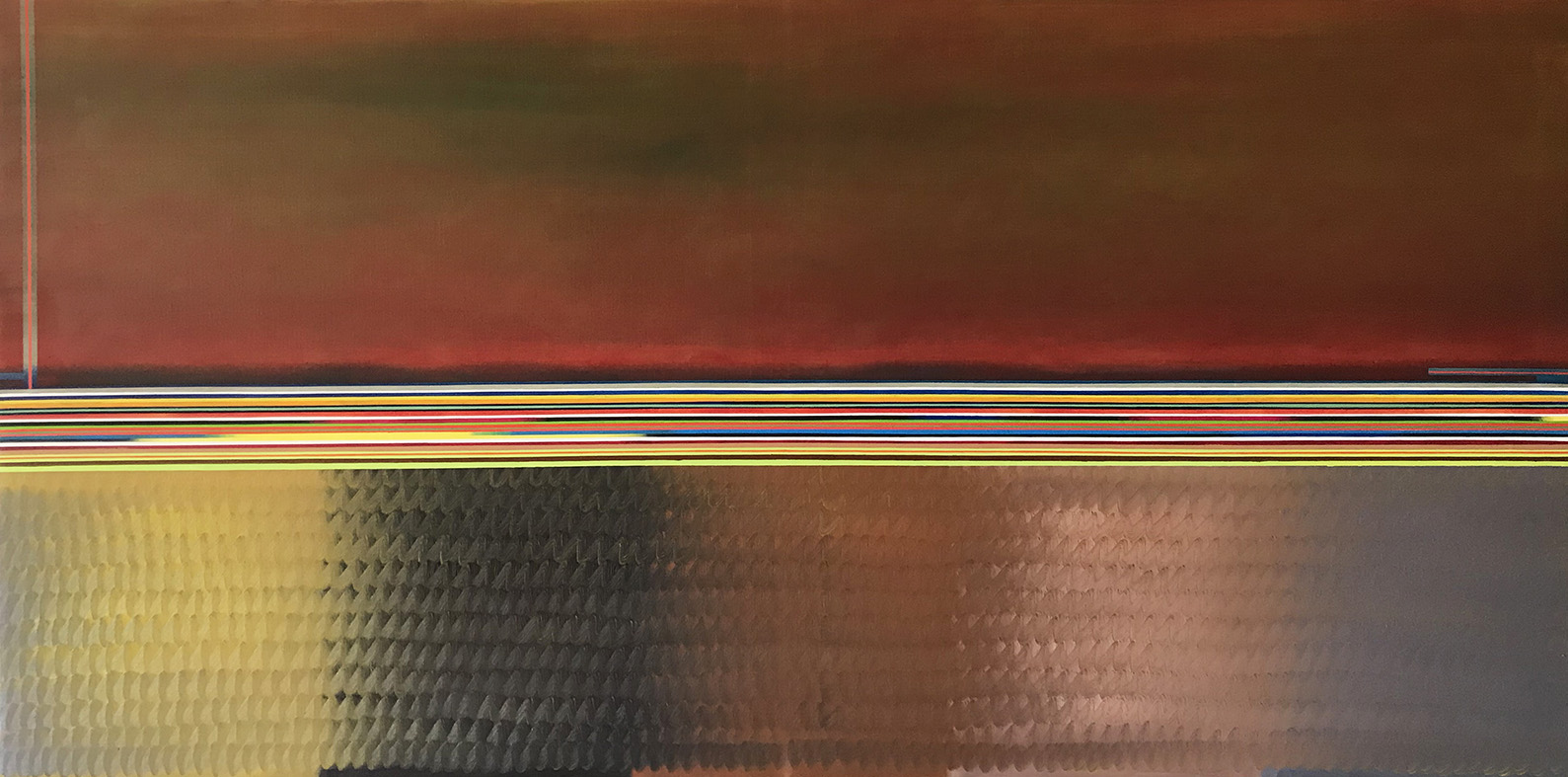 Lndskp 1 (100x200cm) 2018 (private collection, New York)