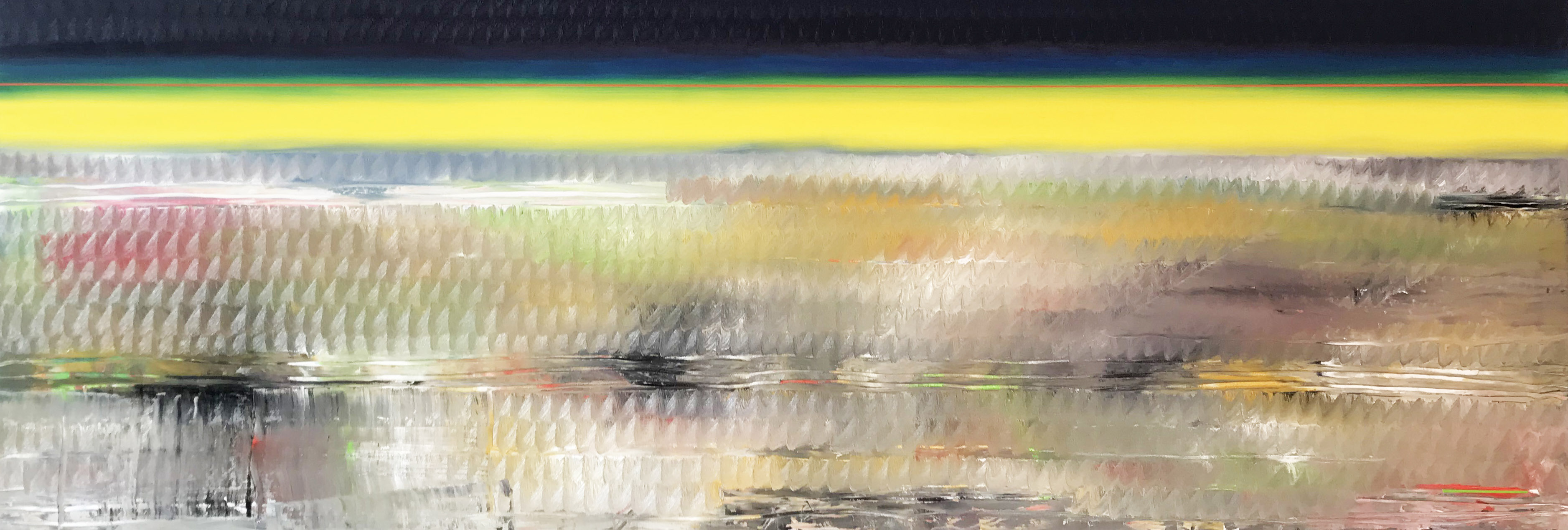 Winterscape (100x200cm) 2018 - miquel gelabert