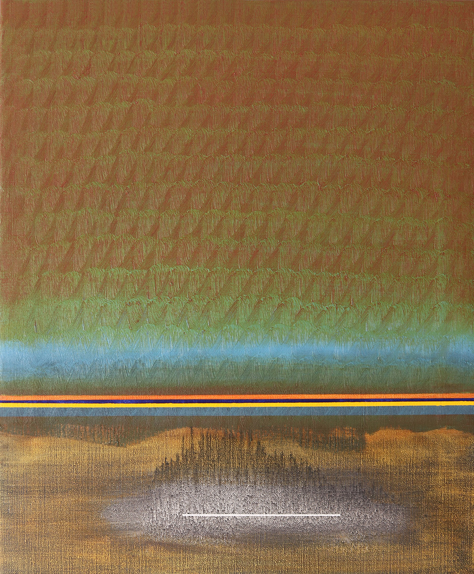 Goldblue (65x54cm) 2019