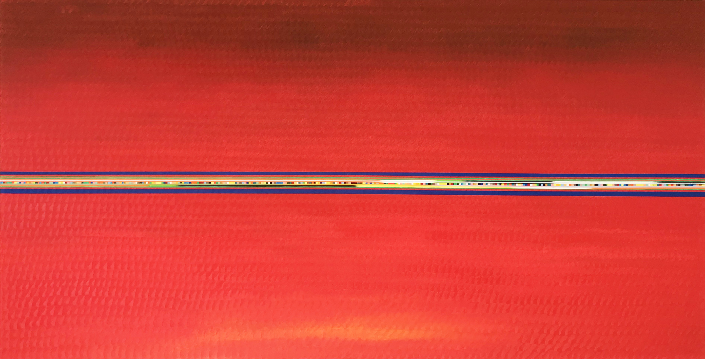 Red painting 2 (120x239cm) 2018-2019 (private collection)