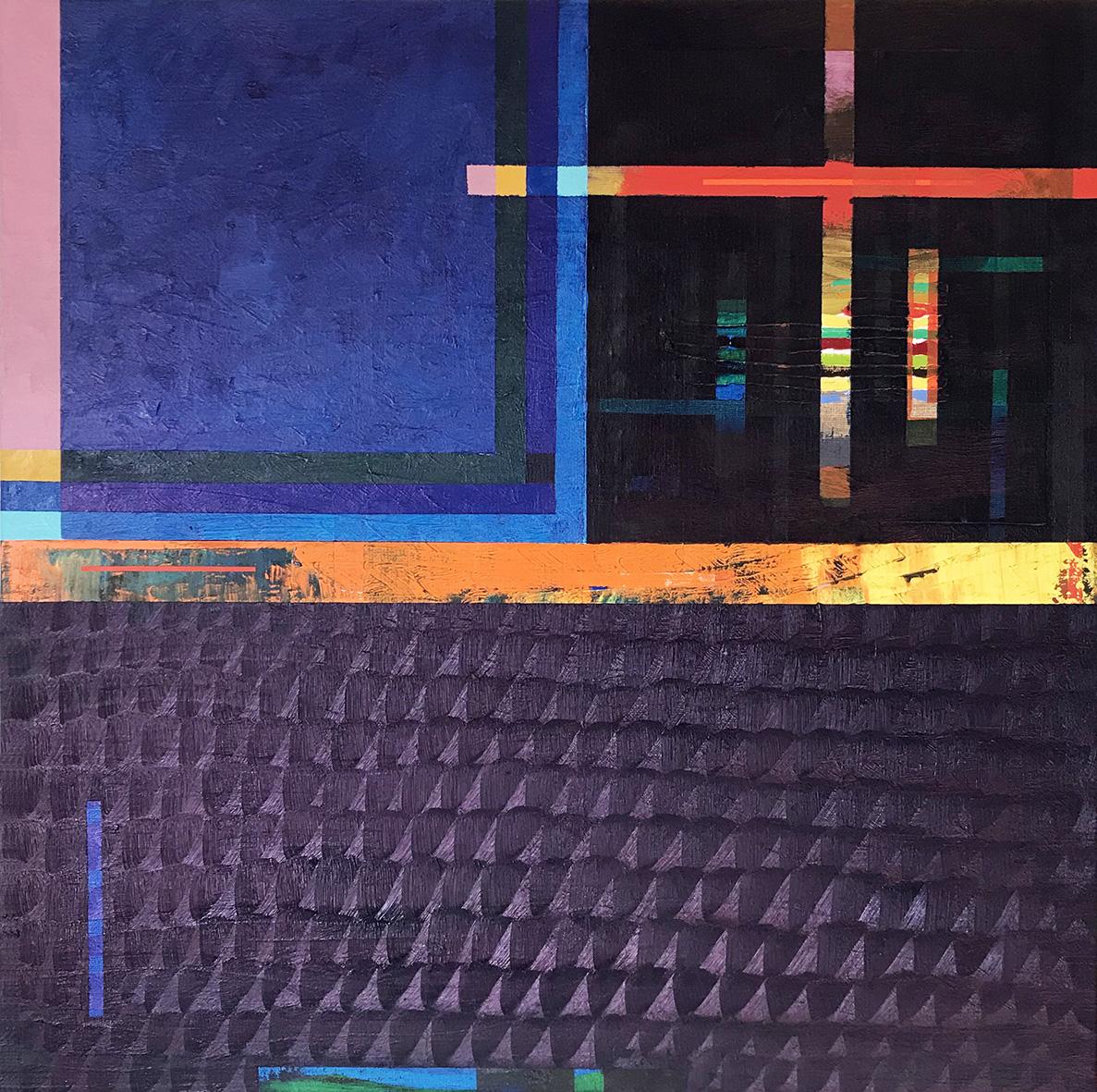 Redline horizon (v 1.0) (65x65cm) 2019