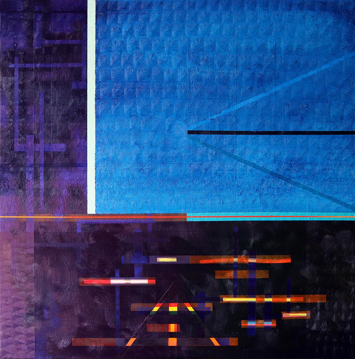 Redline horizon (v 2.0) (80x80cm) 2019