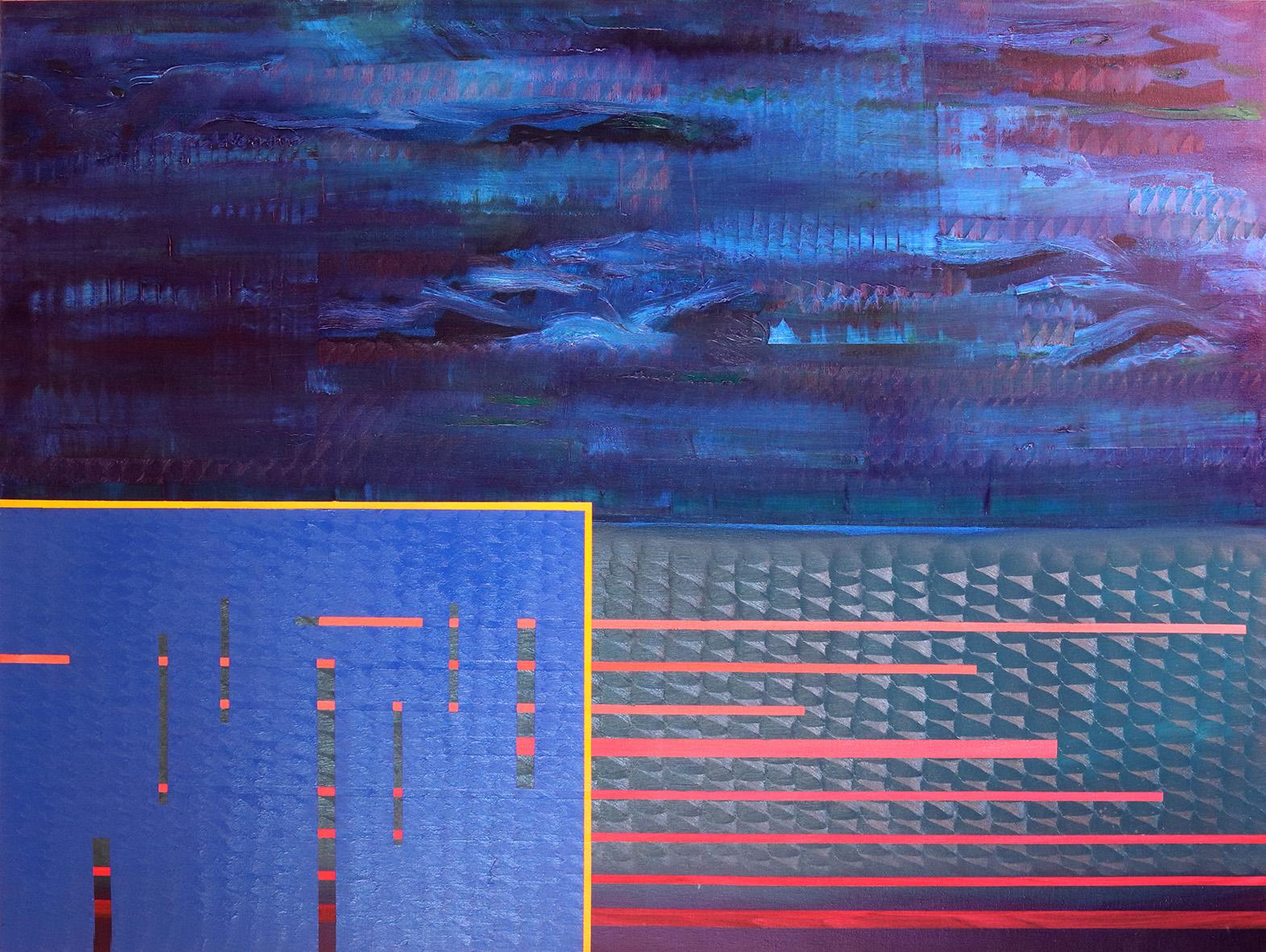 Redline horizon (v 3.0) (97x130cm) 2019