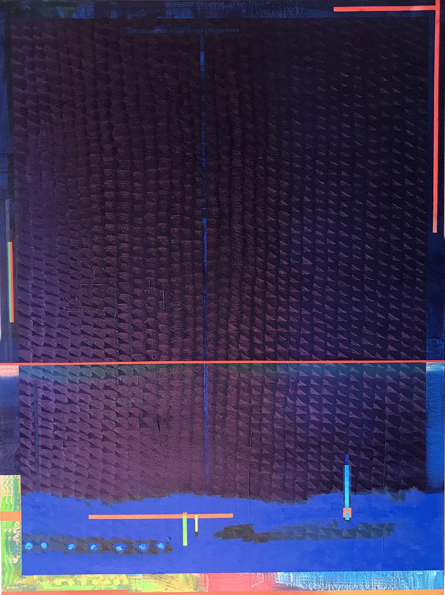 Redline horizon (v 4.0) (130x97cm) 2019