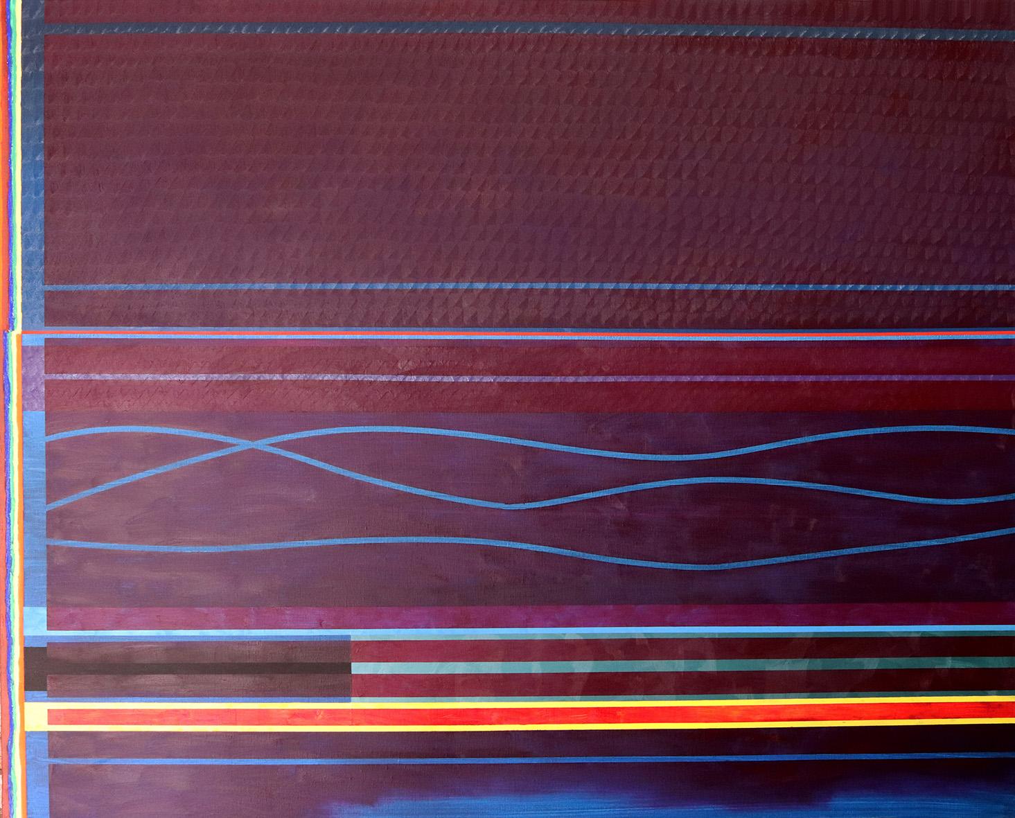 Redline horizon (v 5.0) (130x162cm) 2019