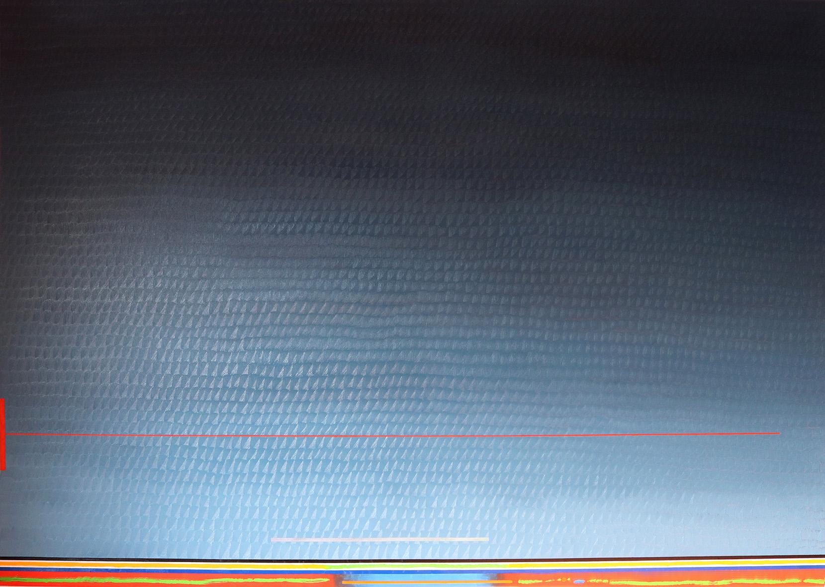 Redline horizon (v 9.0) (147x208cm) 2019