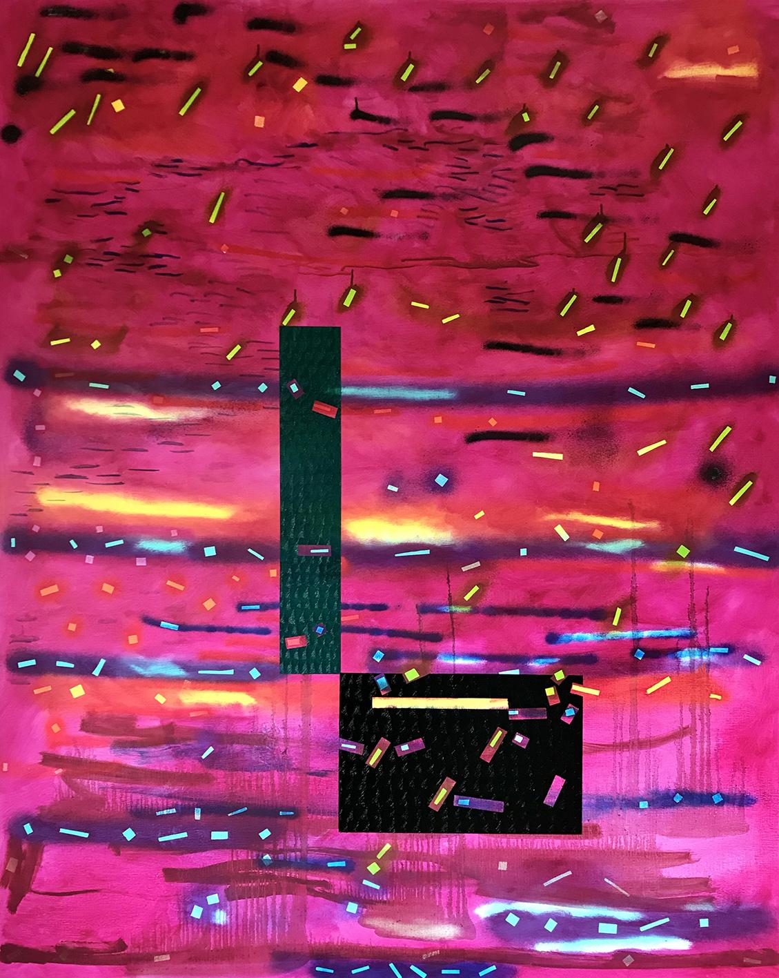 Geomrose 2 (162x130cm) 2021