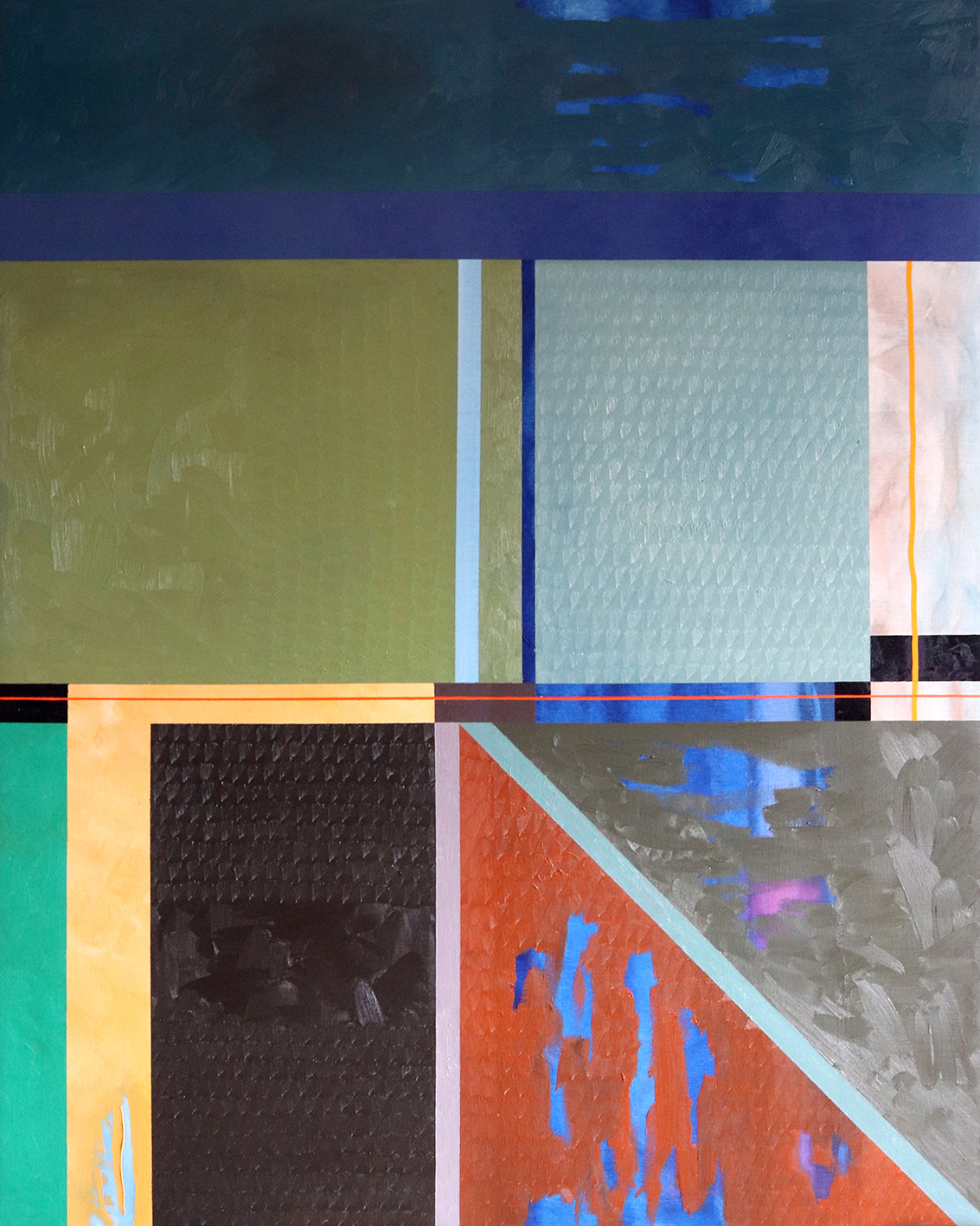 Platja secreta (162x130cm) 2005-2020