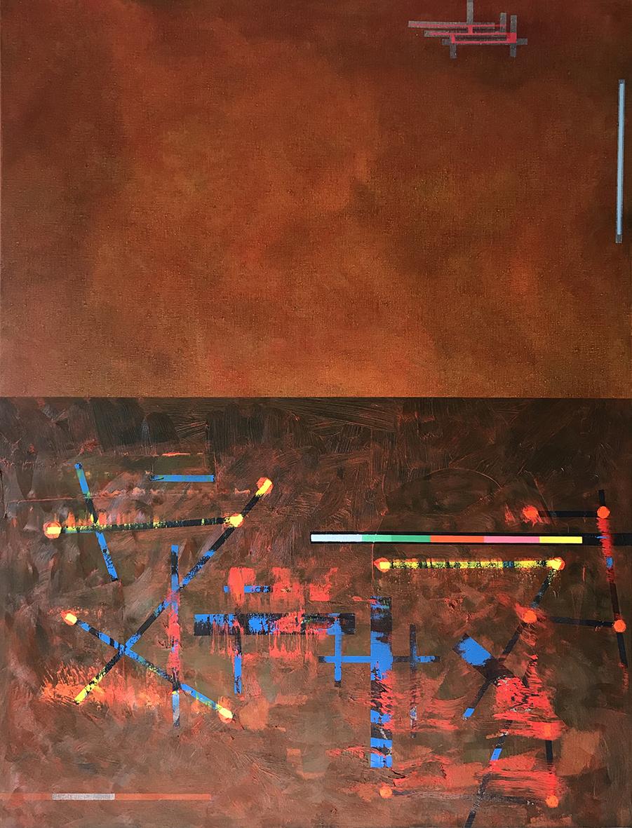 Untitled landscape 1 (116x89cm) 2020
